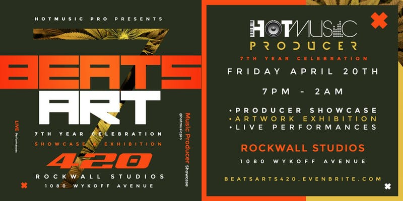 Beats and Art 420 Party