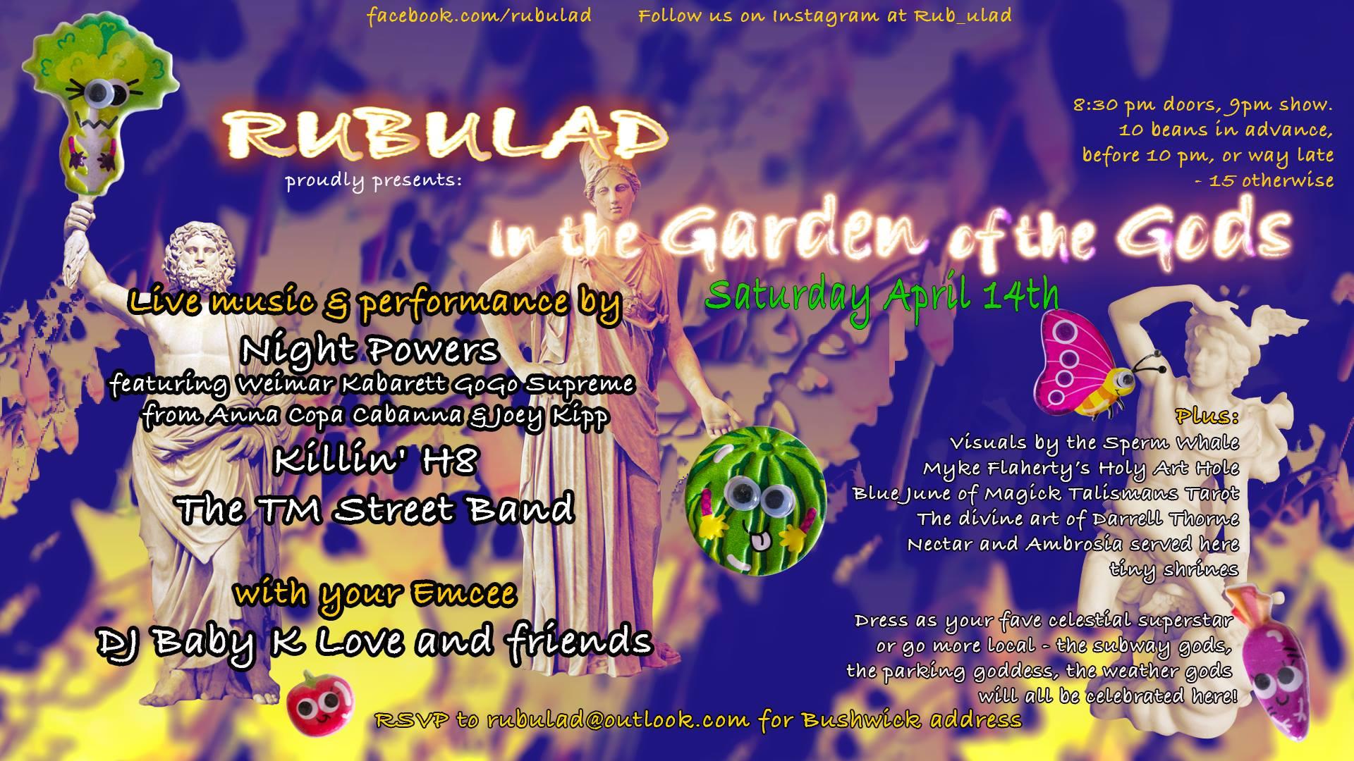 Rubulad Presents In The Garden Of The Gods
