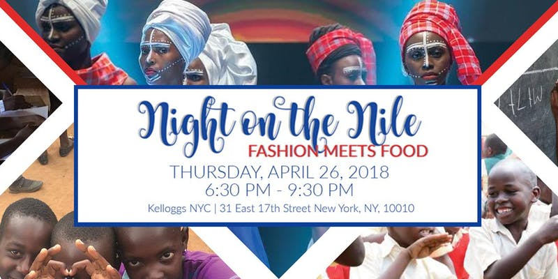 Night on the Nile: Fashion and Food!