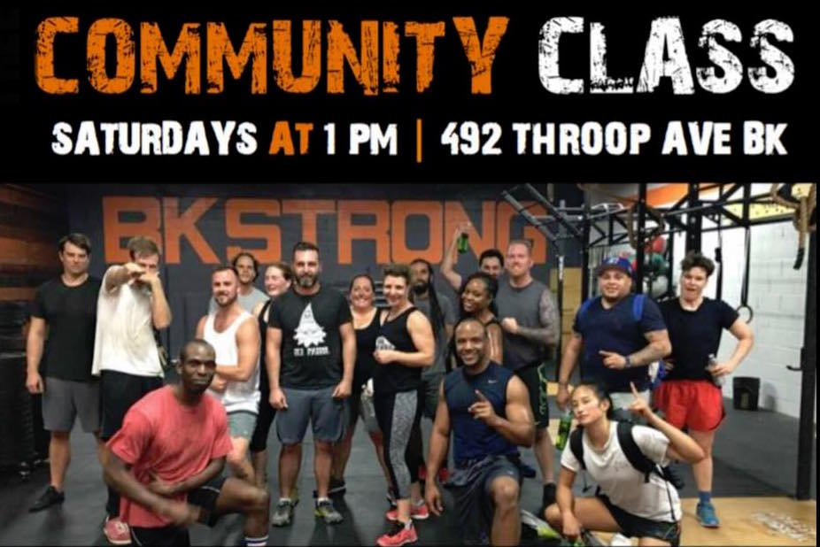 Free Community Boot Camp Class (Bed Stuy)