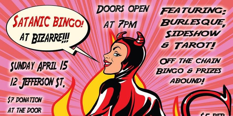 Satanic Bingo Night at Bizarre