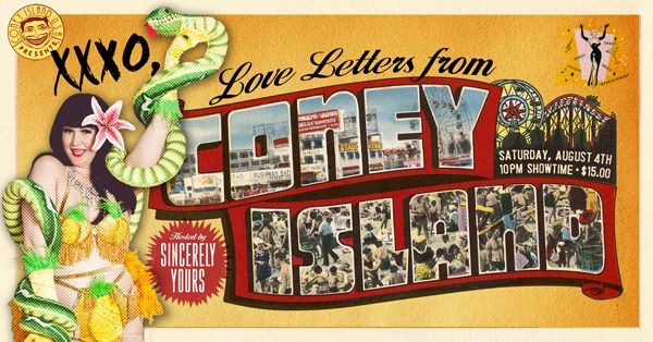 Sincerely Yours: XXXO, Love Letters from Coney Island