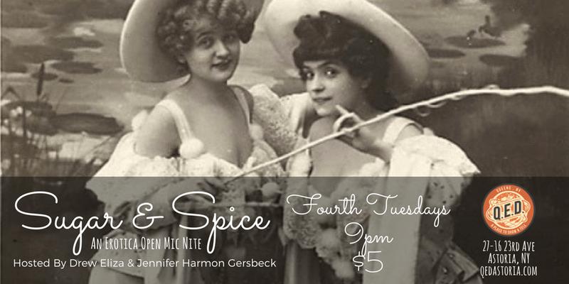 Sugar and Spice: Erotica Open Mic Night