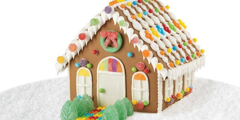 Afternoon Gay Gingerbread House Making Class, Brunch for Adults