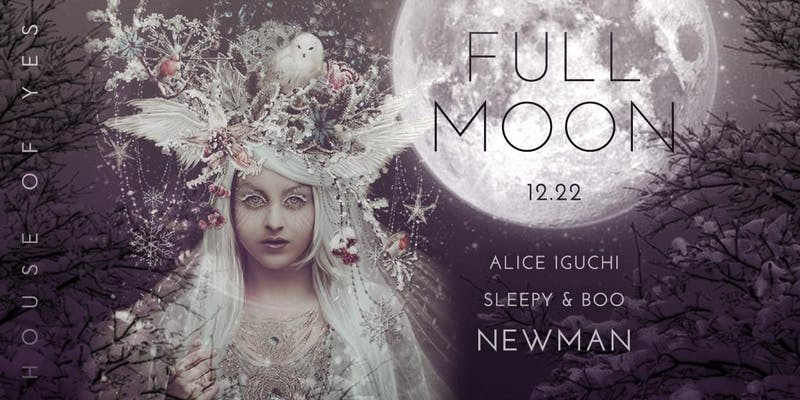 Full Moon Party: Winter Solstice