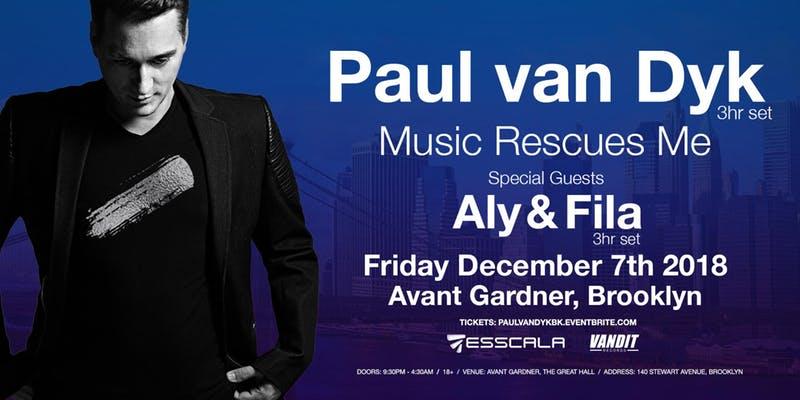 Paul Van Dyk 'Music Rescues Me'