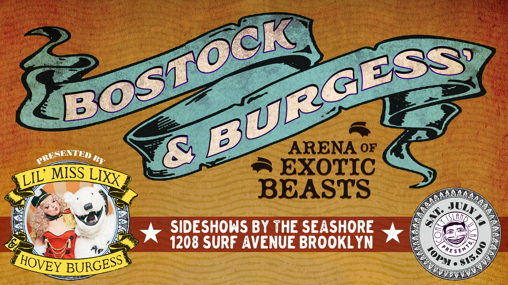 Bostock and Burgess' Arena of Exotic Beasts