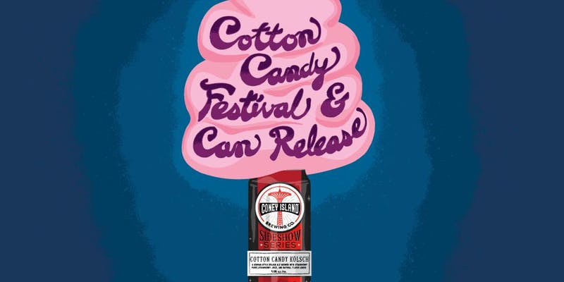 Cotton Candy Festival and Can Release