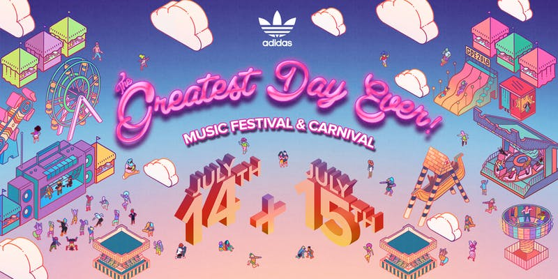 The Greatest Day Ever! Music Festival 2018