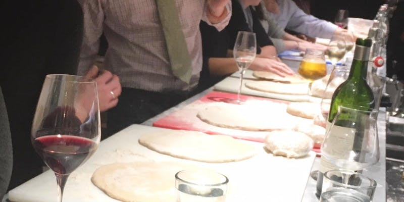 Happy Hour Pizza Making Class