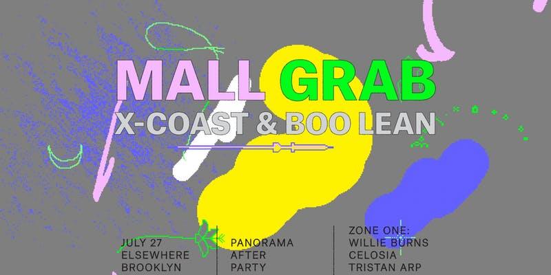 Mall Grab, X-Coast, Boo Lean, Willie Burns, Celosia and Tristan Arp