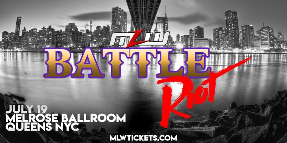 Major League Wrestling - Battle Riot