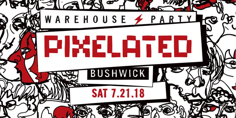 Pixelated Warehouse Party