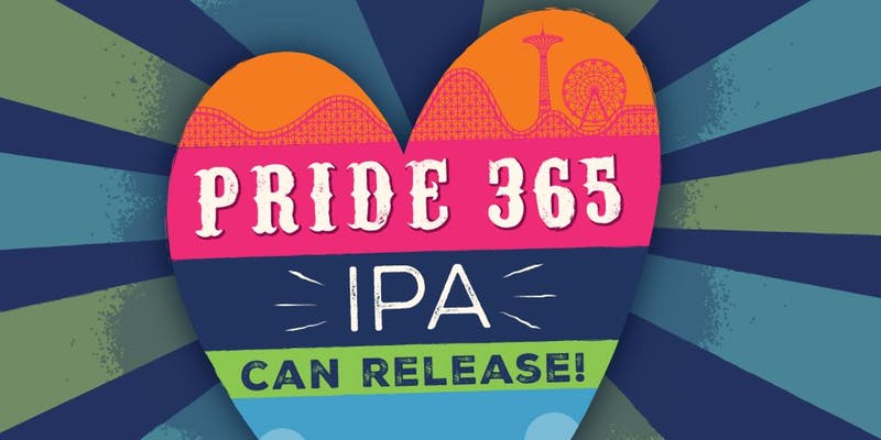 Pride 365 Party and Can Release