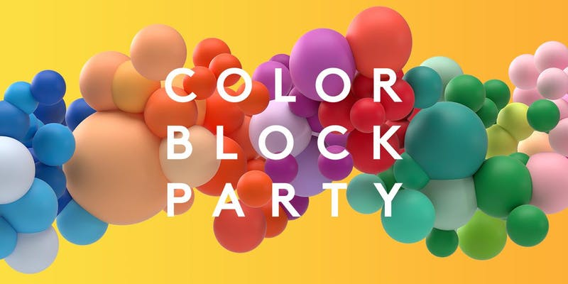Color Block Party at Pier 17