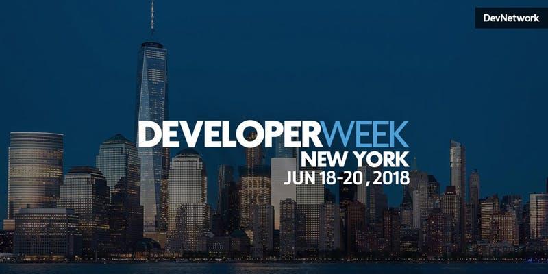 DeveloperWeek NYC 2018