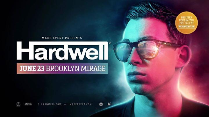Hardwell at The Brooklyn Mirage
