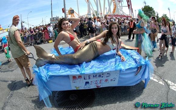 The 36th Annual Mermaid Parade