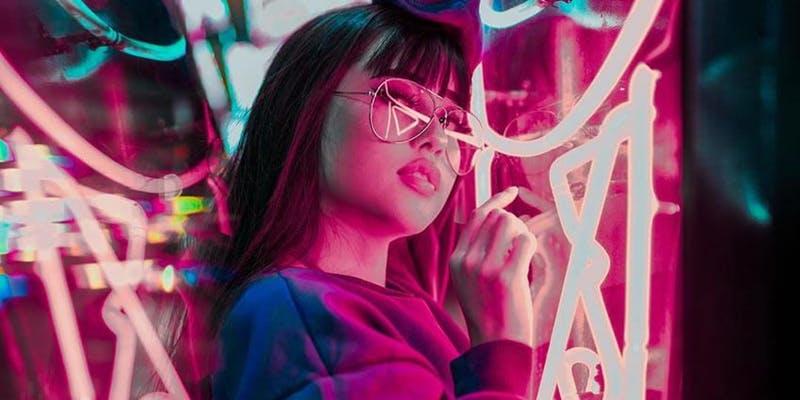 Neon Night Fashion Show