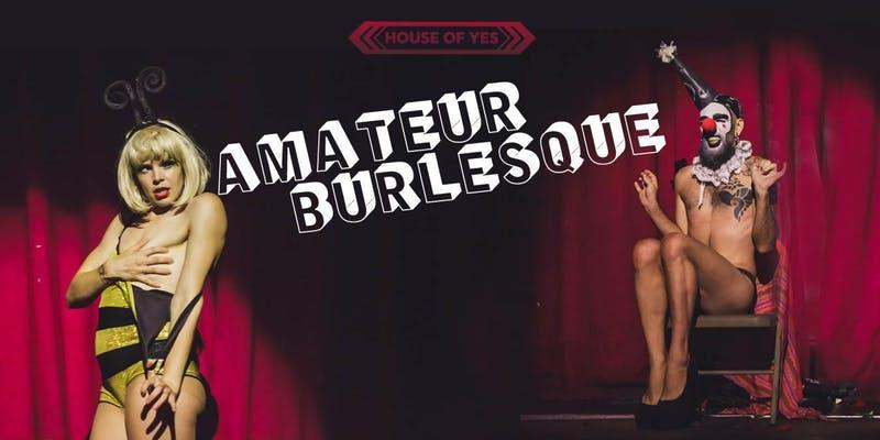 Bits & Tits: Amateur Burlesque Night!