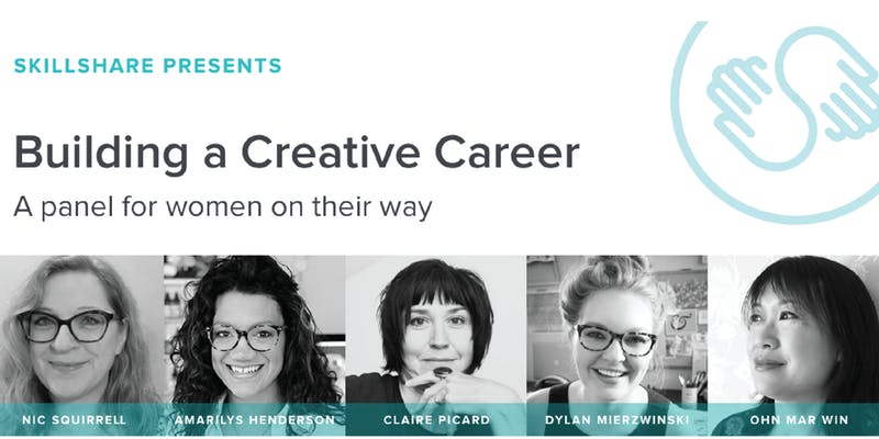 Building a Creative Career: A Panel For Women on Their Way