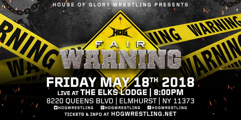 House of Glory Wrestling: Fair Warning