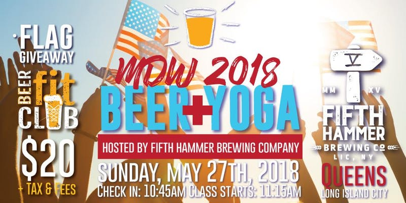 MDW 2018 Beer and Yoga