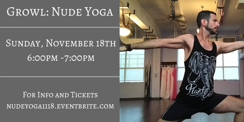 Growl: Nude Yoga (For Men)