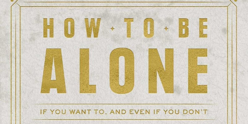 How to Be Alone by Lane Moore - Book Release Party