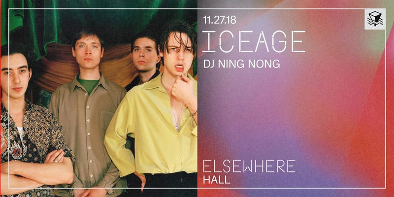 Iceage at Elsewhere