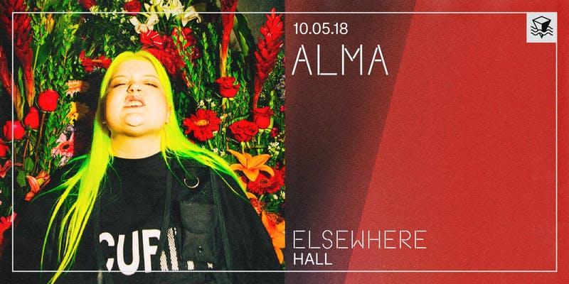 Alma at Elsewhere (Hall)