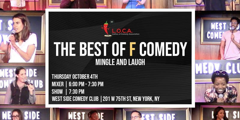 LOCA Mixer and Comedy Show
