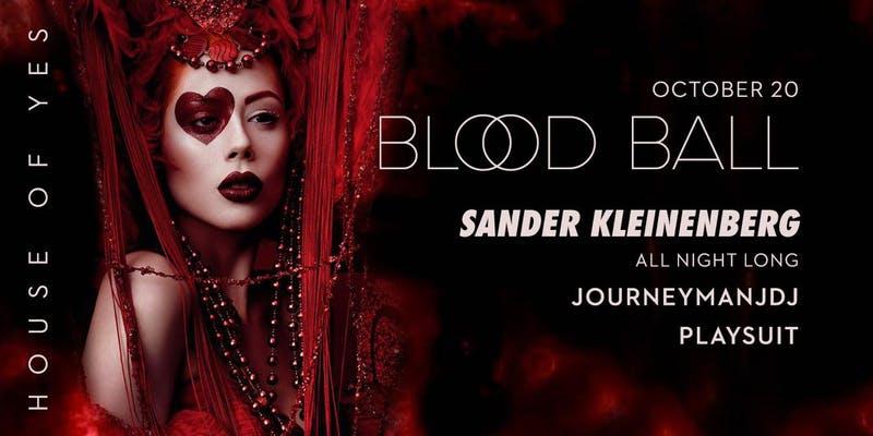 Blood Night with Sander Kleinenberg All Night