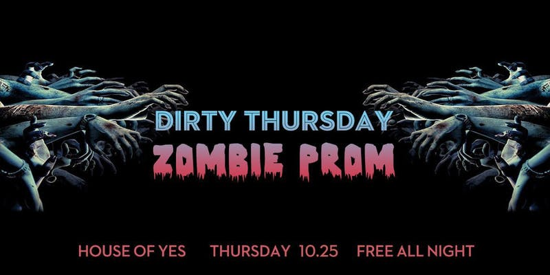 Dirty Thursday: Zombie Prom