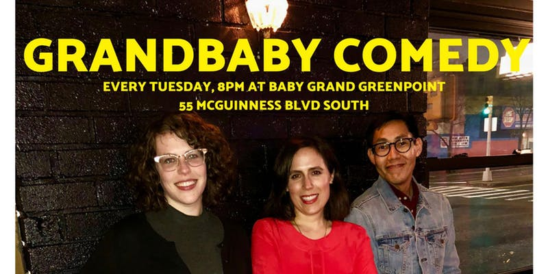 Grandbaby Comedy and Free Karaoke