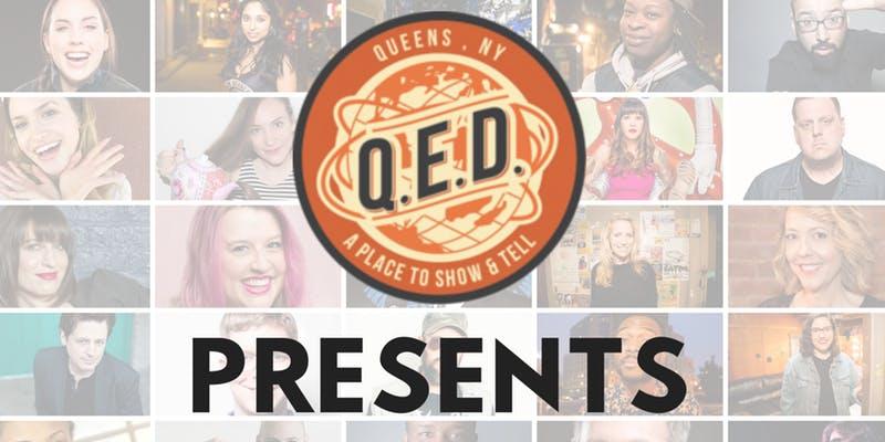 QED Presents: Katie Compa, Selena Coppock and Calvin Cato