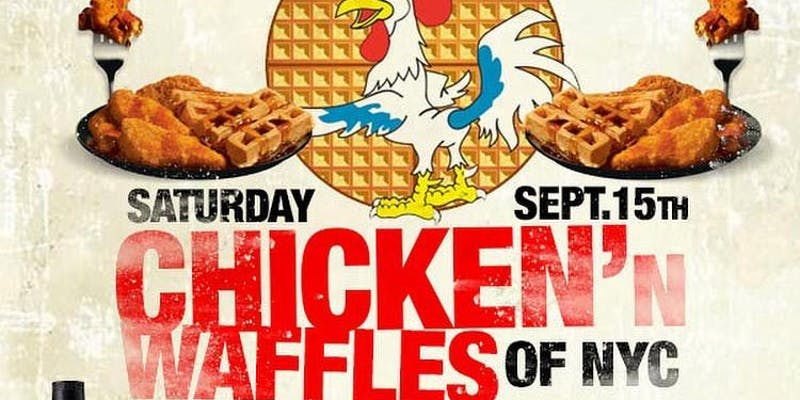 Unlimited Chicken and Waffles Day Party