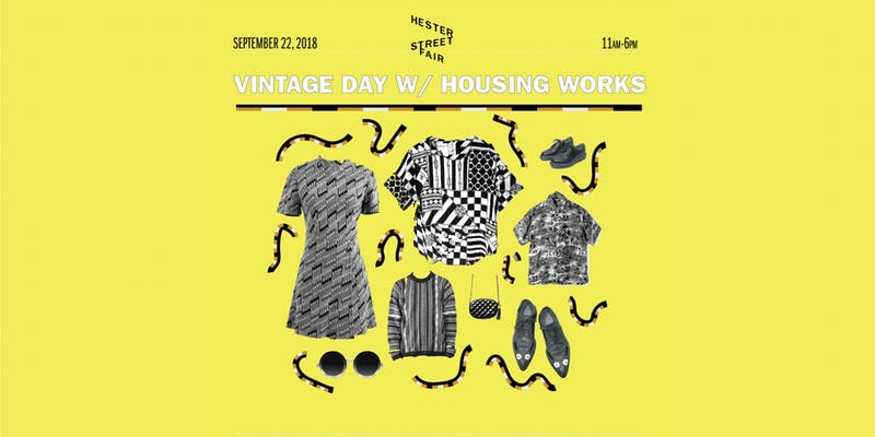 Hester Street Fair's Vintage Day with Housing Works