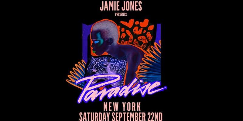 Paradise with Jamie Jones, Art Department