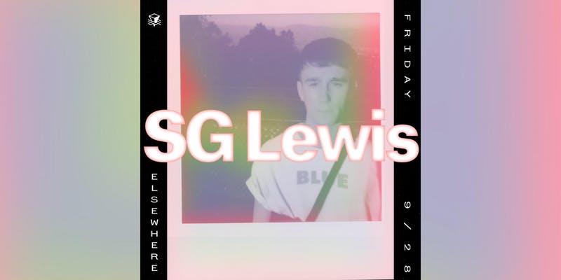 SG Lewis at Elsewhere