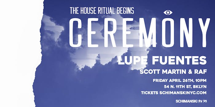 Ceremony: Lupe Fuentes, Scott Martin and RAF
