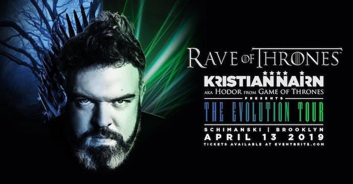 Rave of Thrones - Kristian Nairn