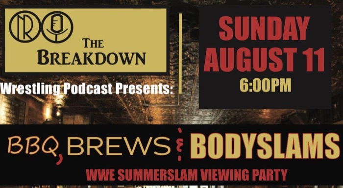 WWE Summerslam Viewing Party
