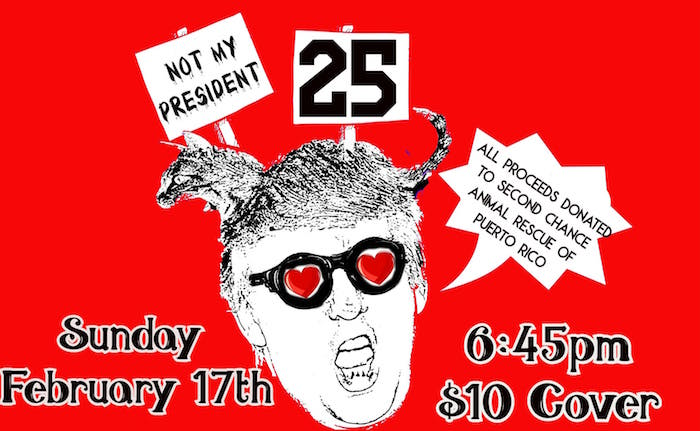 Not My President: A Monthly Show of Resistance