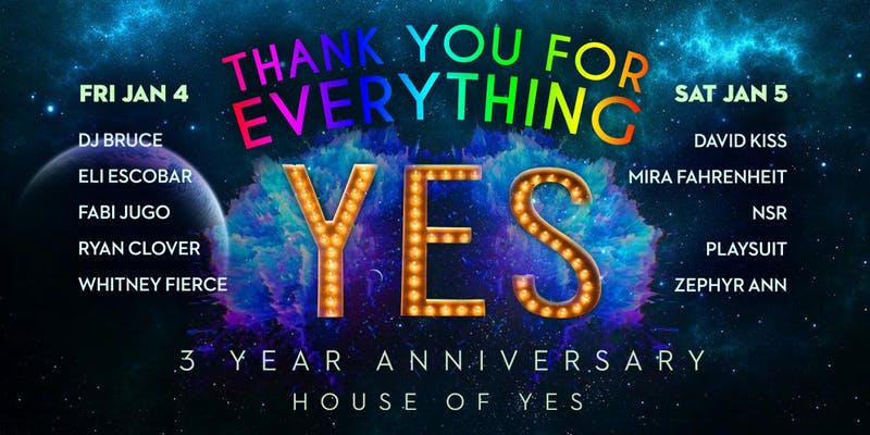 HOY 3 YEAR ANNIVERSARY: Thank You For Everything!