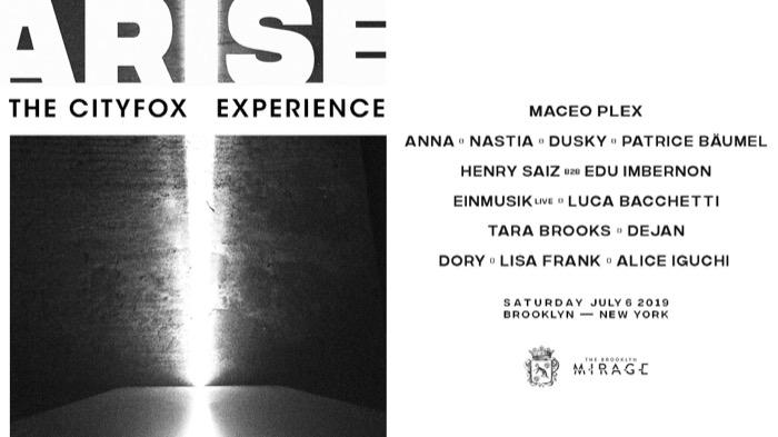 Cityfox Arise: Maceo Plex, Anna, Nastia, Dusky & More