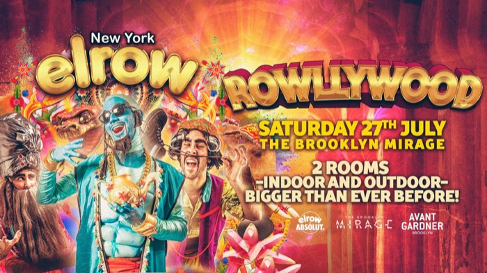 elrow NYC Open Air Festival