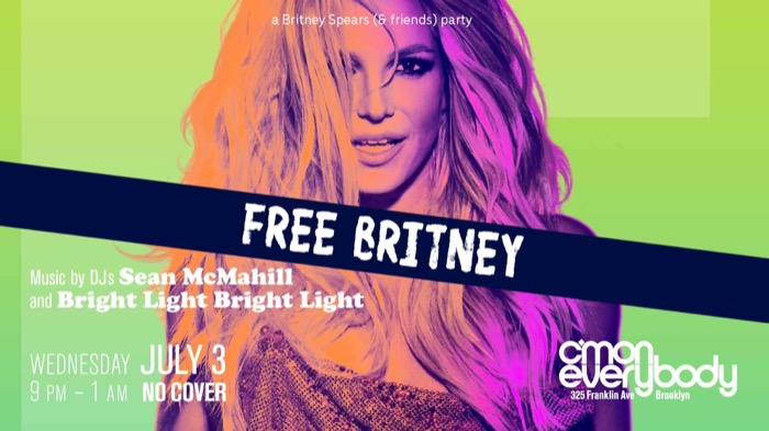 FREE BRITNEY *A Britney Spears (& friends) party*