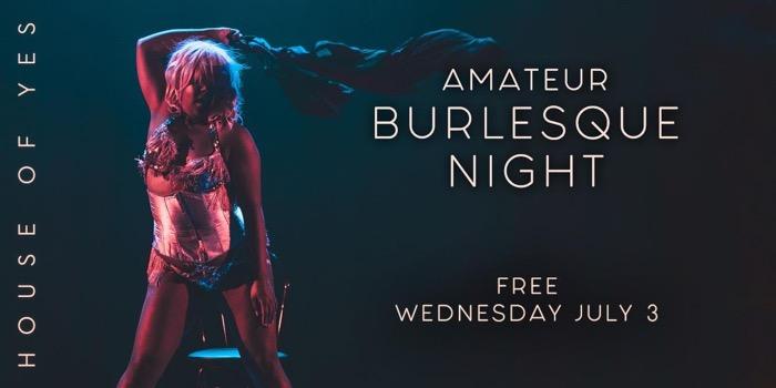 Amateur Burlesque Night