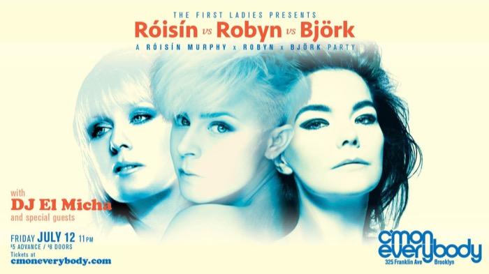 Róisín vs Robyn vs Björk
